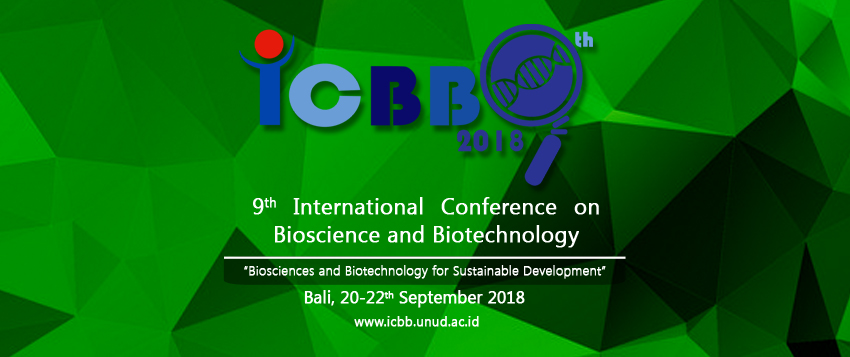 9th International Conference on Bioscience and Biotechnology